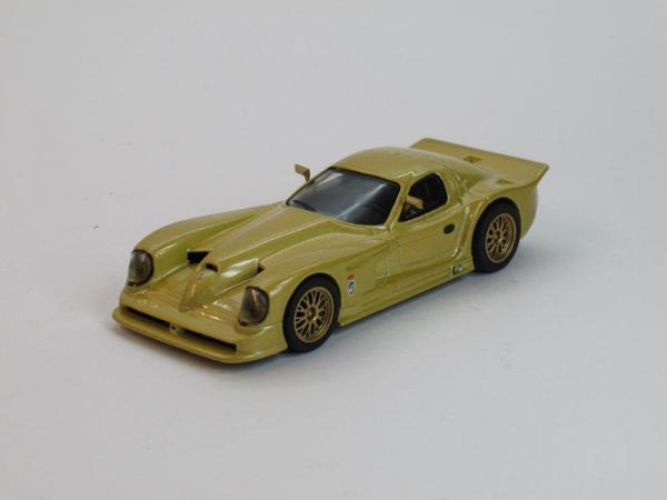 Panoz Esperante GTR (DeAgostini (Суперкары мира)) [2003г., Золотой, 1:43]