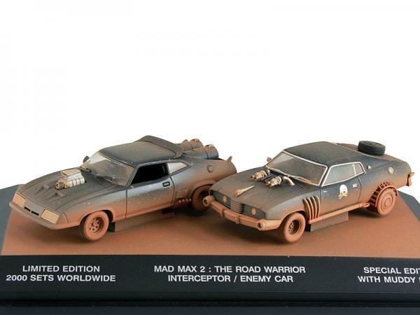 """Ford Falсon и Landau kit (из к/ф """"Безумный Макс 2"""") (Autoart) [1964г., Состаренный, 1:43]"""