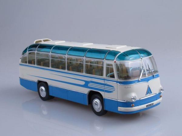 ЛАЗ-695Б туристический «Комета» (ULTRA Models) [1958г., Голубой, белый, 1:43]
