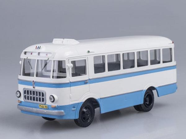 РАФ-251 (Vector-Models) [1955г., Голубой с белым, 1:43]