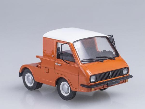 РАФ-3407 тягач ВДНХ (Vector-Models) [1980г., Оранжевый, 1:43]