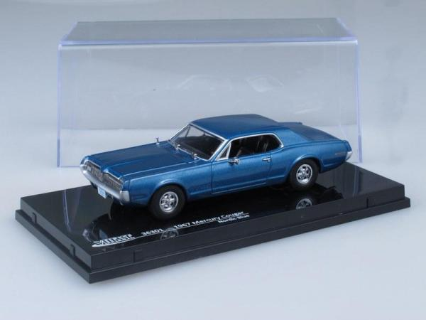 Mercury Cougar (Vitesse) [1967г., Голубой, 1:43]