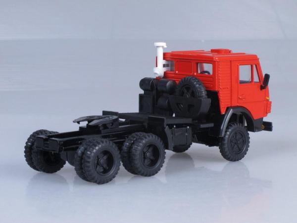 КамАЗ-5410 тягач (Элекон) [1976г., Оранжевый, 1:43]