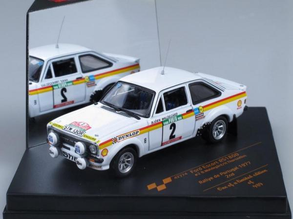Ford Escort RS1800 - #2 B.Waldegard/H.Thorszelius (Vitesse) [1968г., Белый, 1:43]