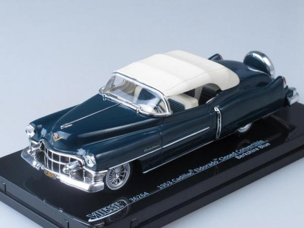 Cadillac Eldorado Closed Convertible (Vitesse) [1953г., Темно-синий, 1:43]