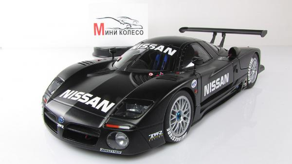 NISSAN R390 GT1 LEMANS 1997 TEST CAR (Autoart) [1997г., Черный, 1:18]