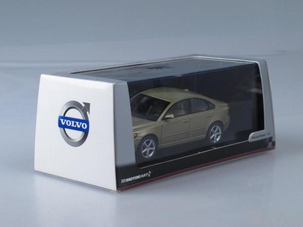 Volvo S40 (Motorart) [2008г., Светло-коричневый металлик, 1:43]