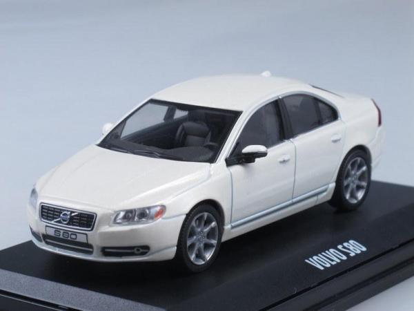 Volvo S80 (Motorart) [2008г., Белый, 1:43]