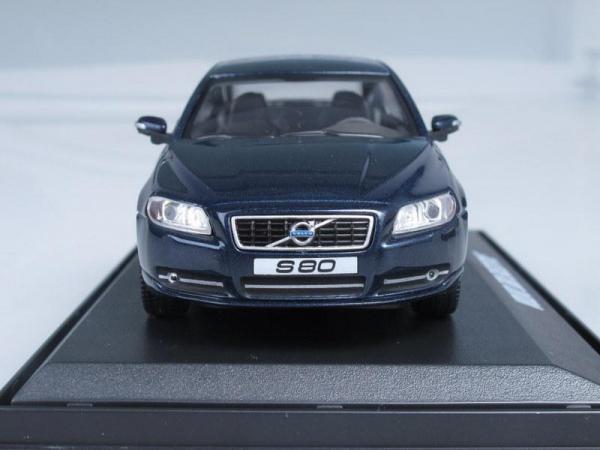 Volvo S80 Executive (Motorart) [2008г., Темно-синий металлик, 1:43]