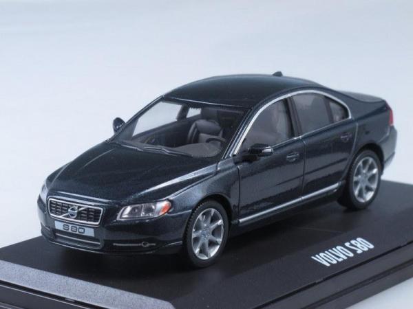 Volvo S80 (Motorart) [2006г., Черный метеллик, 1:43]
