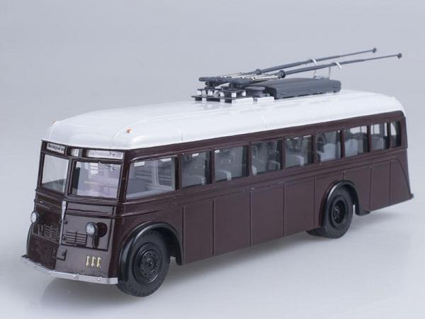 ЯТБ-1 Ленинград (Vector-Models) [1937г., Темно-вишневый, 1:43]