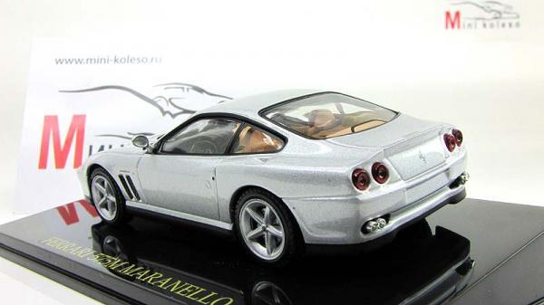 Ferrari 575M Maranello (Altaya) [1996г., Серебристый, 1:43]