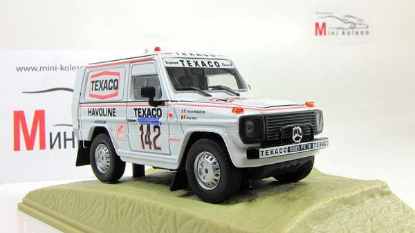 MERCEDES-BENZ 280 GE Ralli (Altaya) [1979г., Белый, 1:43]