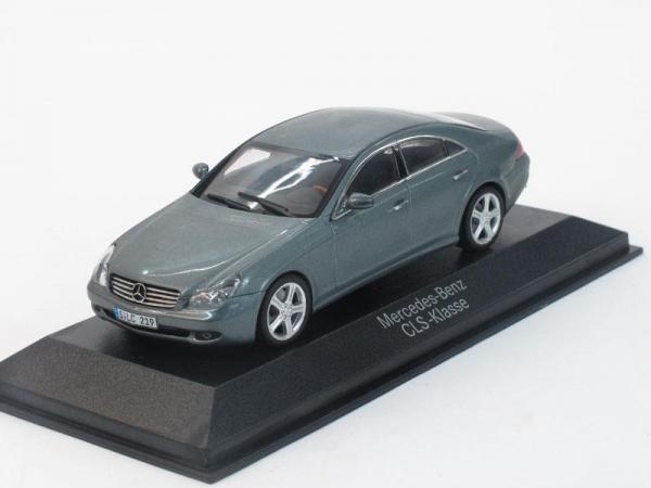 Mercedes-Benz CLS (C219) (Minichamps) [2004г., Серый металлик, 1:43]