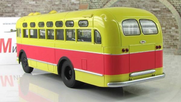 ЗИС-155 (Автоистория (АИСТ)) [1949г., красно-жёлтый, 1:43]