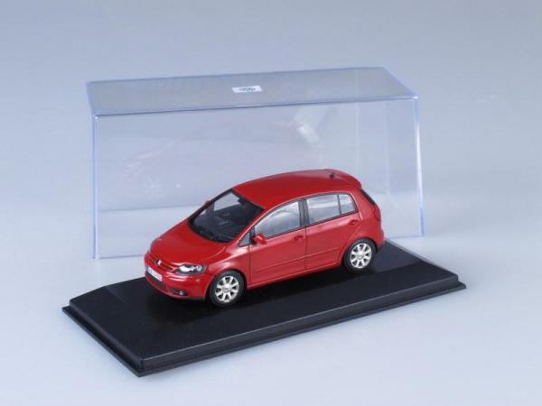 Volkswagen Golf 5 Plus (Minichamps) [2005г., Красный, 1:43]