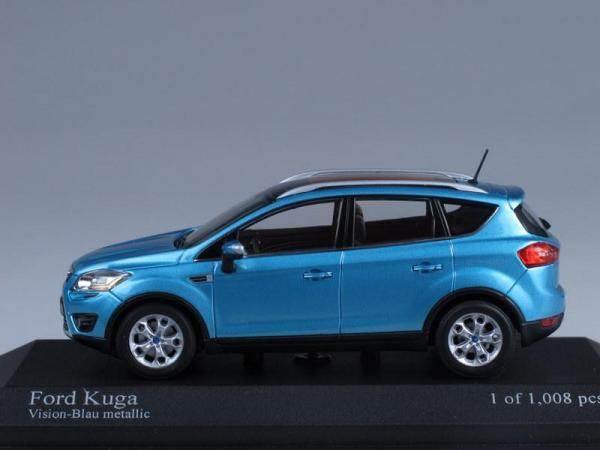 Ford Kuga (Minichamps) [2008г., Голубой, 1:43]