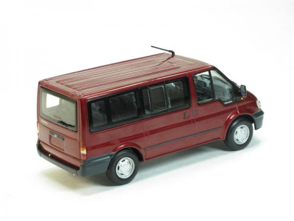 Ford Transit Bus (Minichamps) [2000г., Красный, 1:43]