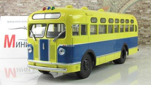 ЗИС-155 (Автоистория (АИСТ)) [1949г., Сине-жёлтый, 1:43]