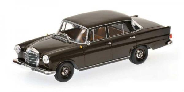 MERCEDES-BENZ 190 (W 110) (Minichamps) [1959г., Черный, 1:43]