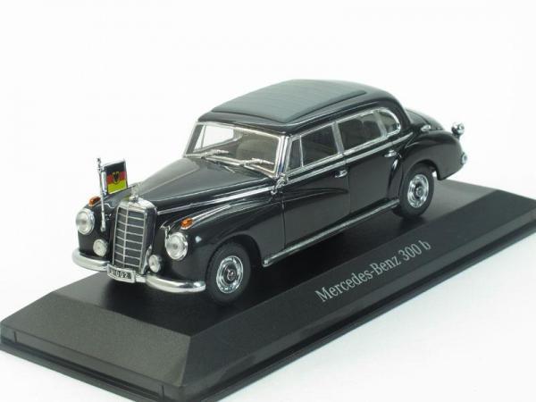 Mercedes-Benz 300b Adenauer (Minichamps) [1955г., Черный, 1:43]