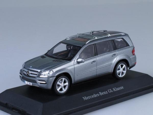 Mercedes-Benz GL-Klasse (Minichamps) [2006г., Темно-серый металлик, 1:43]