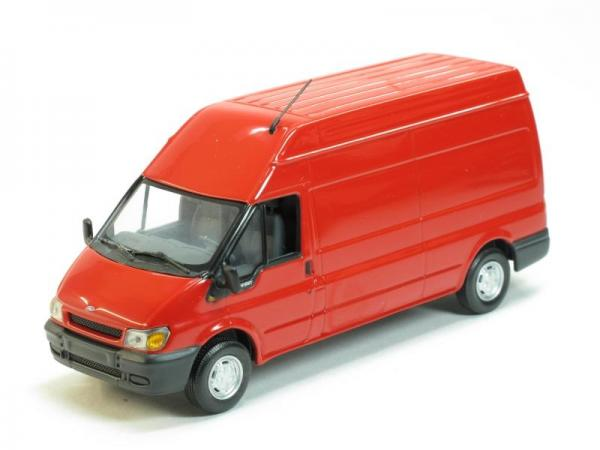 Ford Transit Kastenwagen 350M (Minichamps) [2000г., Красный, 1:43]