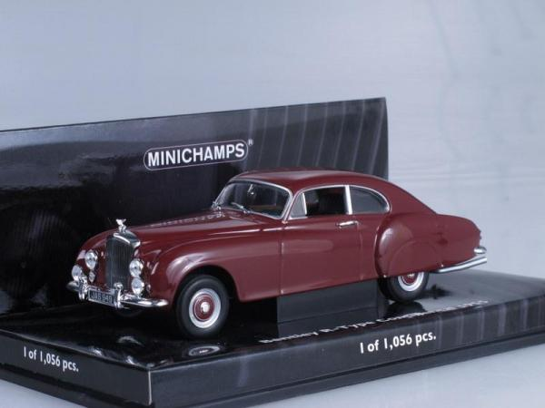 Bentley R-TYPE Continrental (Minichamps) [1955г., Вишневый, 1:43]
