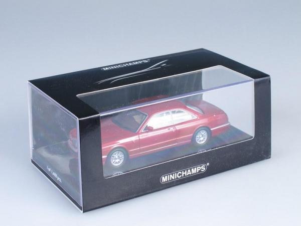 Bentley Continental R (Minichamps) [1996г., Красный металлик, 1:43]