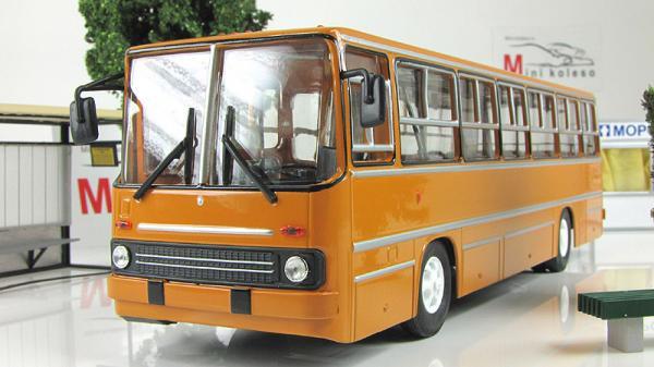 Икарус-260 (Советский автобус) [1971г., Коричневый, 1:43]