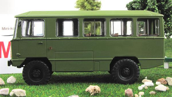 Армейский автобус АПП-66 (Start Scale Models (SSM)) [1954г., Хаки, 1:43]