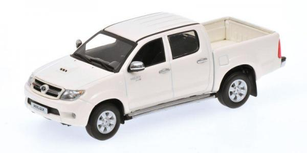 Toyota Hilux (Minichamps) [2006г., Белый, 1:43]