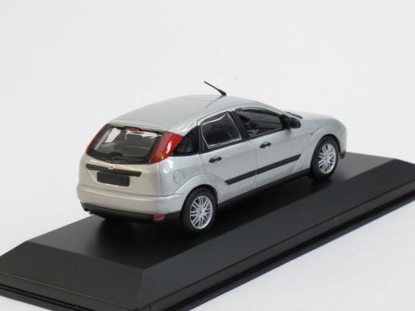 Ford Focus 5turig (Minichamps) [2002г., Серебристый металлик, 1:43]