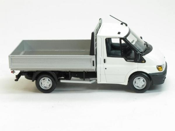 Ford Transit Pritsche (Minichamps) [2000г., Белый, 1:43]