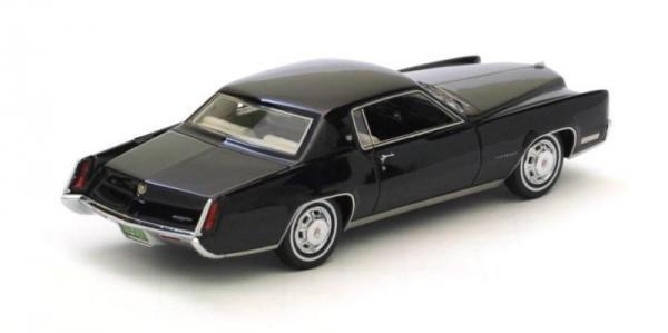 Cadillac Eldorado 2d coupe (Neo Scale Models) [1967г., Черный, 1:43]