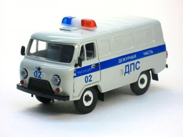УАЗ-3741 ДПС (Тантал) [1965г., Серый, 1:43]