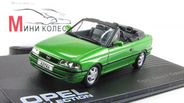 Opel Astra, кабриолет (Altaya) [1992г., Зеленый, 1:43]