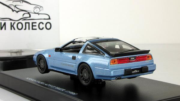 Nissan Fairlady Z 300ZR Z31 (Aoshima) [1987г., Синий, 1:43]