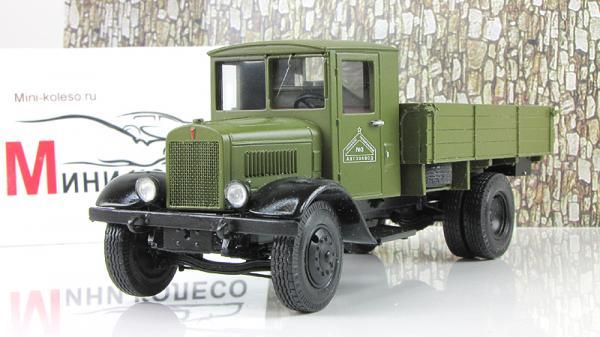 ЯГ-6 бортовой грузовик (ALF) [1936г., Хаки, 1:43]
