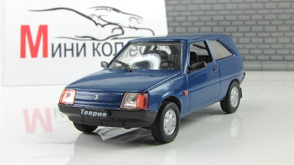 """ЗАЗ-11024 """"Таврия"""" (ALF) [1988г., Синий, 1:43]"""