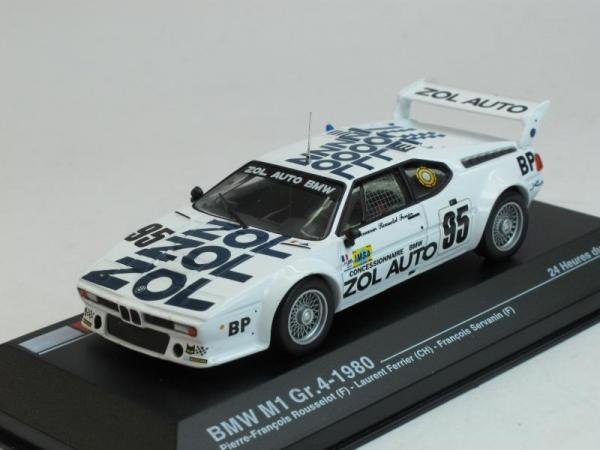 BMW M1 Gr.4 No.95, Le Mans Rousselot-Ferrier-Servanin (Altaya) [1980г., Белый, 1:43]