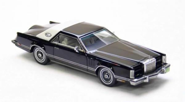 Lincoln MK5 Coupe (Neo Scale Models) [1978г., Черный, 1:43]