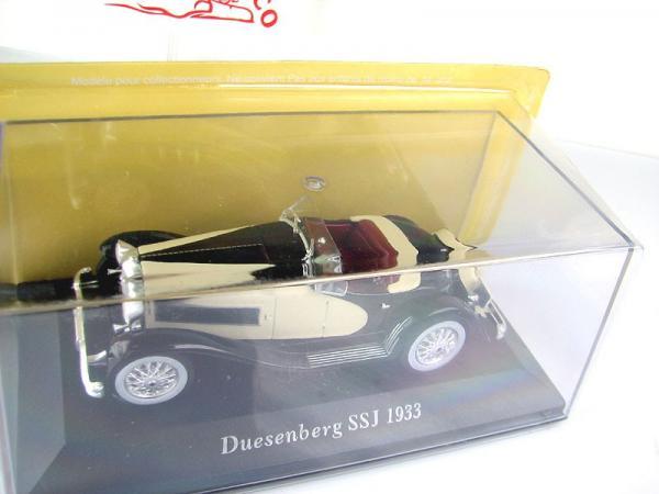 Duesenberg SSJ (Altaya/IXO) [1933г., бежевый/черный, 1:43]