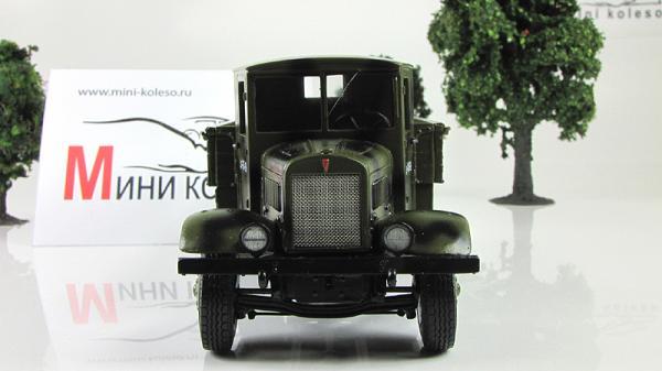 ЯГ-6 бортовой грузовик, камуфляж (ALF) [1942г., зеленый камуфляж, 1:43]