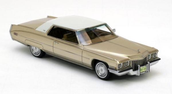 Cadillac Coupe de Ville (Neo Scale Models) [1972г., Золотой металлик, 1:43]