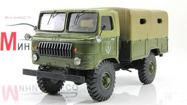 ГАЗ-62 (ALF) [1959г., Хаки, 1:43]