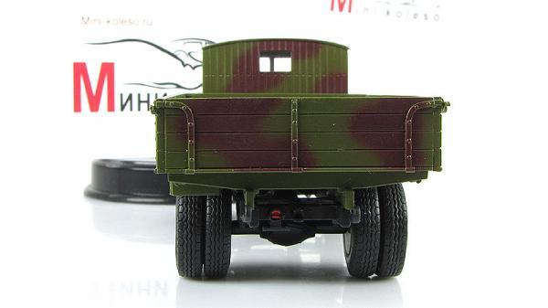 ЯГ-6 бортовой грузовик (ALF) [1936г., зеленый камуфляж, 1:43]