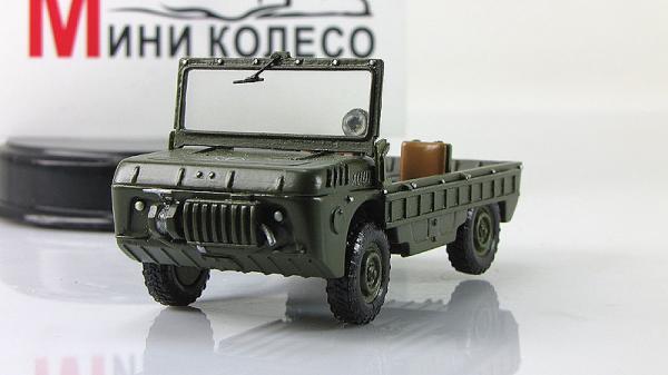 ЛУАЗ-967 транспортер переднего края (ALF) [Хаки, 1:43]