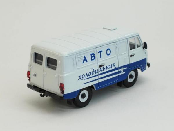 УАЗ-3741 Автохолодильник (Тантал) [1965г., Белый, 1:43]