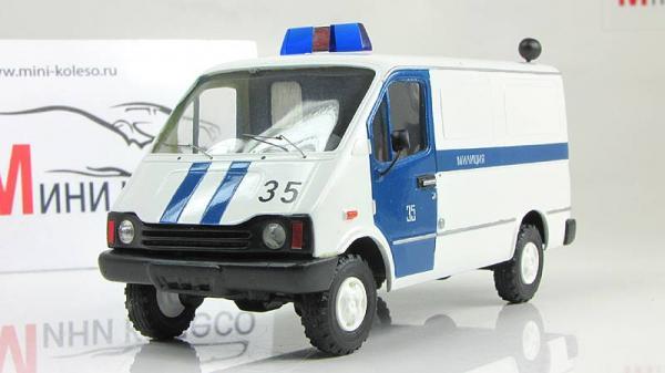 БАЗ-3783 милиция (ALF) [1993г., Белый, 1:43]